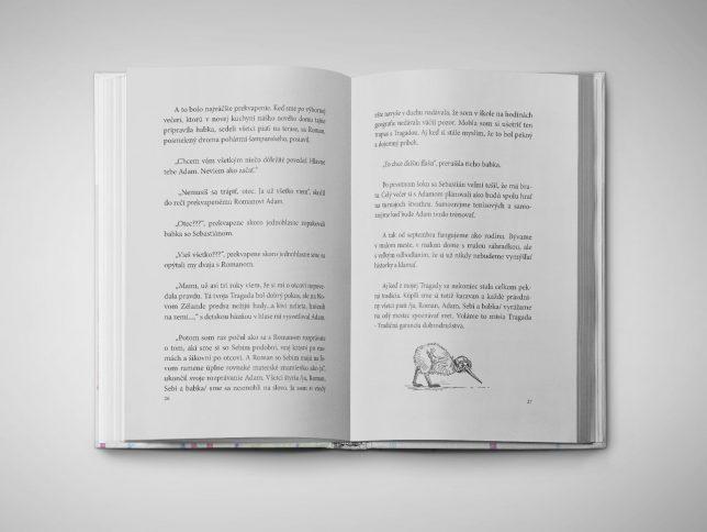 Kniha: Tragada