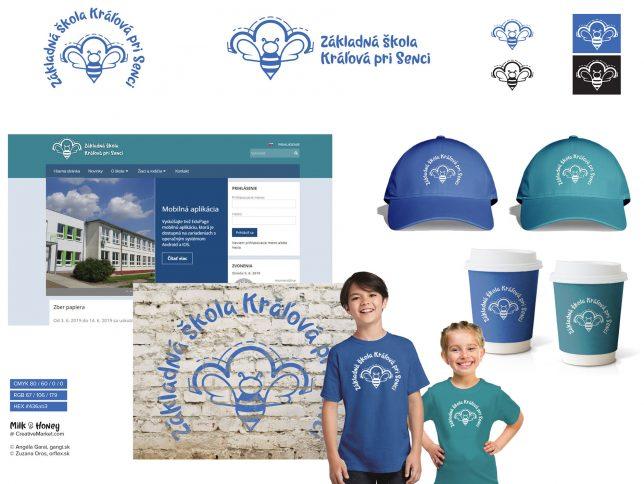 Zákládna škola Kráľová pri Senci logo